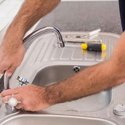 faucet sink repair
